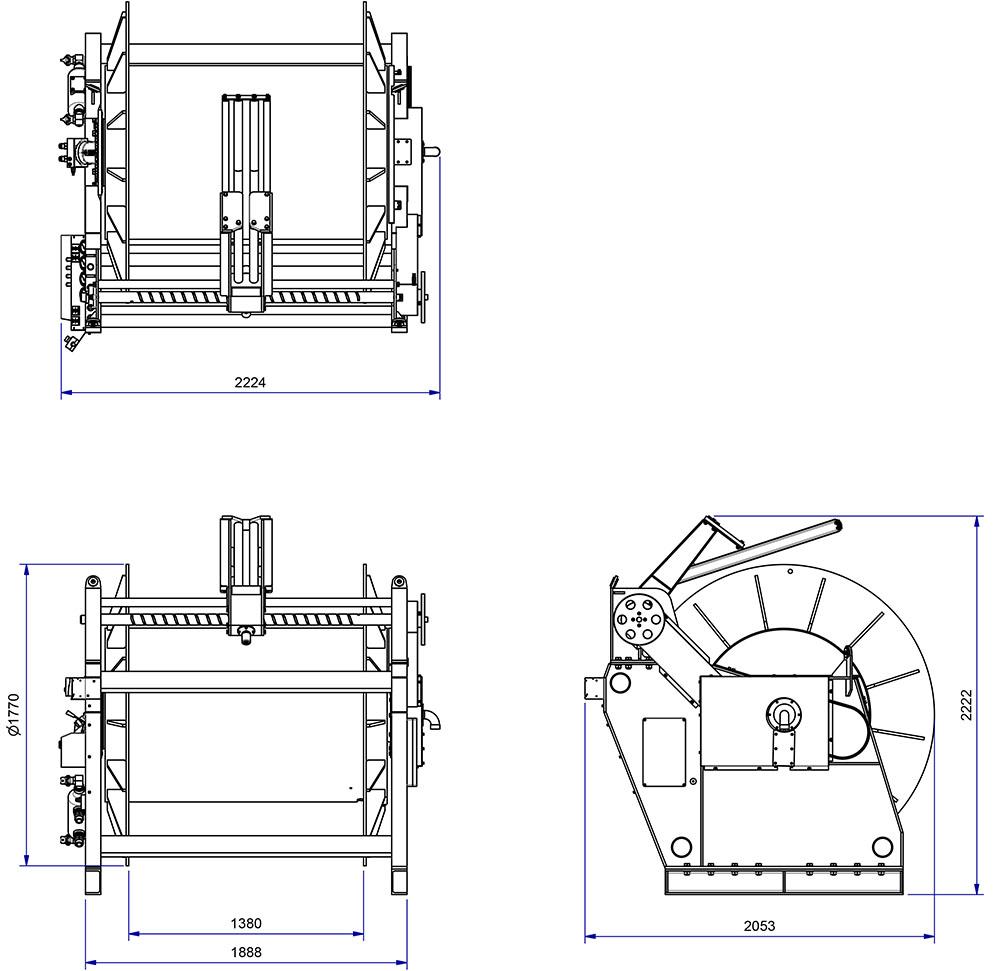mk7 hydraulic winch